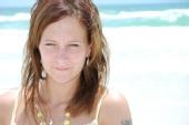 Jenna - Beach close up