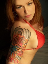 Suzanne Magnes - New tat- July 2009