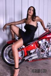 monique abernathy - Motorcycle shoot