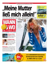 Variety - Front Cover of biggest newspaper in Austria