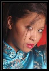 ann ann ( Filipina model ) - Chinise Dress