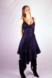 queenloz - blues dress 1