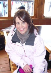 Becky - Me in Folgarida, Italy