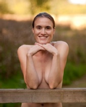 Catherine - Outdoot nude