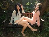 Princess G - Me and Charlotte (A Model friend)