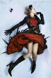 Nasya Demich - The skirt eating a girl