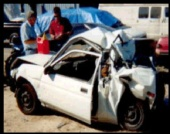 Dawn O'brien - Picture Of My Car In Car Crash