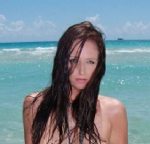 Natasha Sokolova - Miami Beach Photo Shoot
