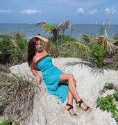 Natasha Sokolova - Key Biscayne Photo Shoot