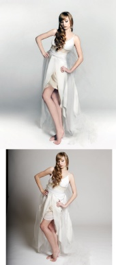 PhatSOfoto - Fixed the dress, background, skin & face