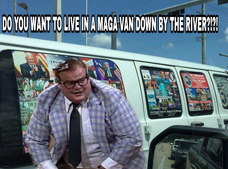 Mr. Astroglide® Lube - A MAGA Van!