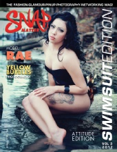 Snap Matter Magazine - Cover Girl:  Rae