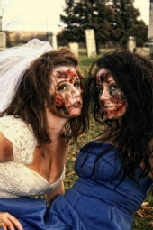 Big Bear Photography - Zombie Bridal