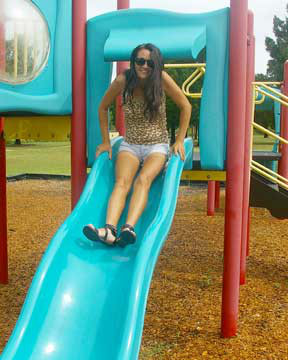 Nikki Savage - Playing at the Park