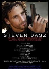 PERSONAL TRAINER - ACTOR - FIGHT CHOREOGRAPHER - Steven Dasz