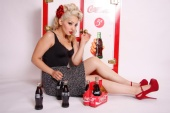 Beauty by NuNu - Coca Cola shoot-Model Joanne U.