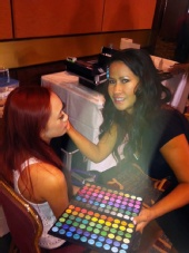 Beauty by NuNu - Behind scenes! Miss Hollywood Pageant