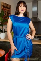 Becky Model - Blue Dress