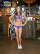 Danny Mays - bikini in Restaurant