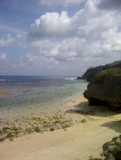 wisnu - lonely beach
