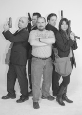 """Nic Brown - Producer Nic Brown with """"The Henchmen"""""""