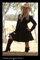 Rachel Louviere - cowgirl up
