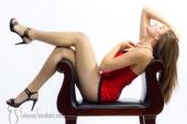 Esteem Boudoir - Woman in Red